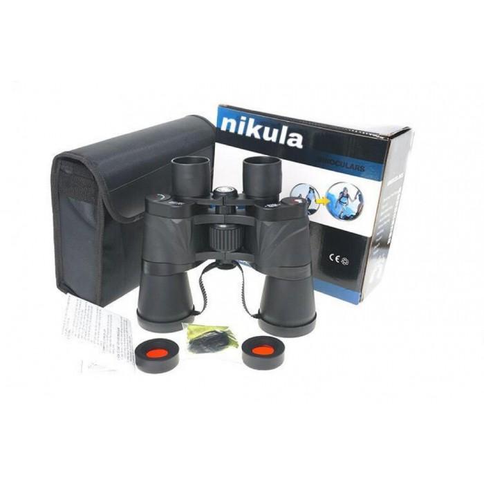 Nikula 7x50 Av Dürbünü Güneş Filtreli Taşıma Çantalı 1000M/56M