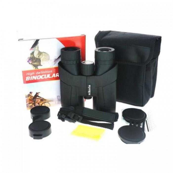 Nikula 8x42 Compact  Su Geçirmez, Avcılık,Spor, Kuş Gözetleme,Yüksek Kaliteli Dürbün