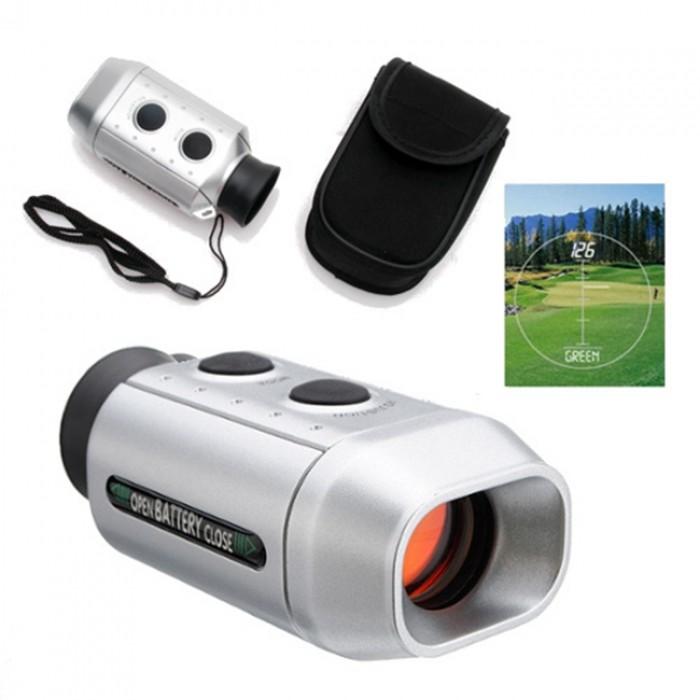 Nikula Dijital Mesafe Bulucu Dürbün 7X18– Golf Oynayanlar İçin Özel Telemetreli – Golfscope
