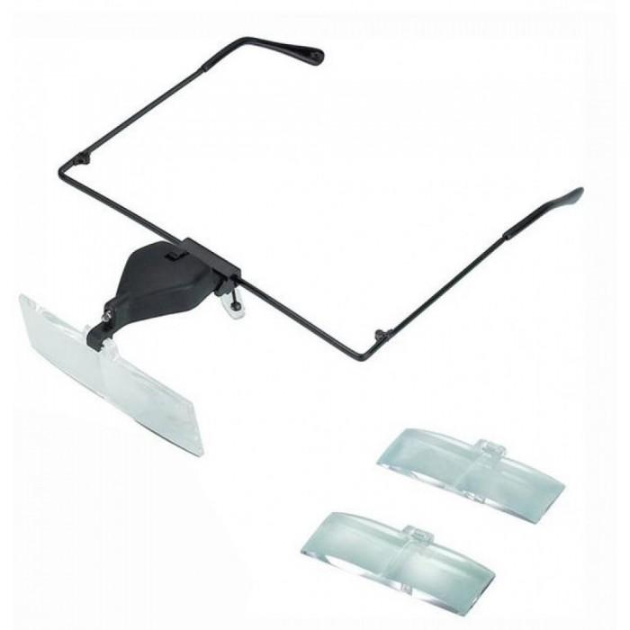 Gözlük Modeli  1.5x,2.5x,3.5x 3 adet lensi Gözlük Büyüteç