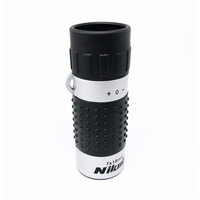 Nikula 7X18  Metal Kaplamalı,Avuç içi Tek Gözlü  Monoküler Dürbün
