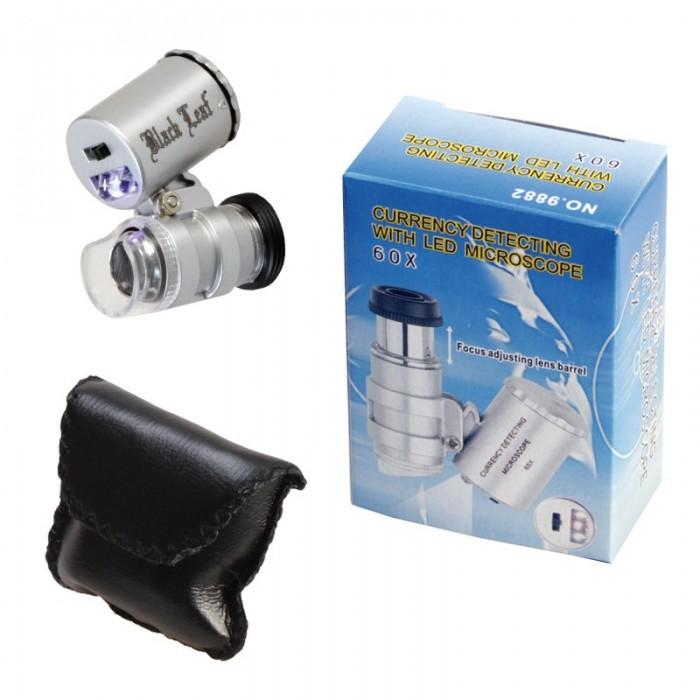 Kuyumcu,Antıkacılar için 60x Mini Mikroskop NO:9882