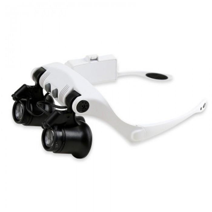 Çıft Gözlü ,Kuyumcu,Saat onarım için 10x-15x-20x25x Mercekli Gözlük Büyüteç