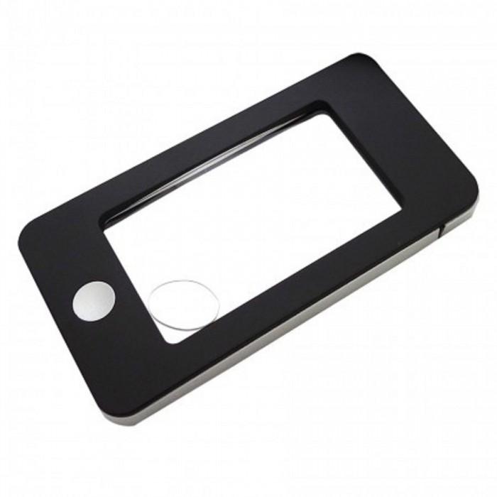 Iphone Şekli LED Işıkları ile LED Aydınlatmalı,3x-5x,Okuma Büyüteç