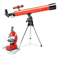 500x50 Teleskop&Mikroskop Set