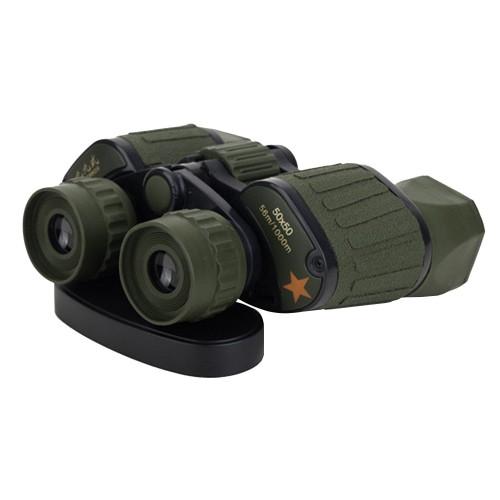 Kamuflaj Askeri 50X50 Çift Gözlü Orta Boy Dürbün